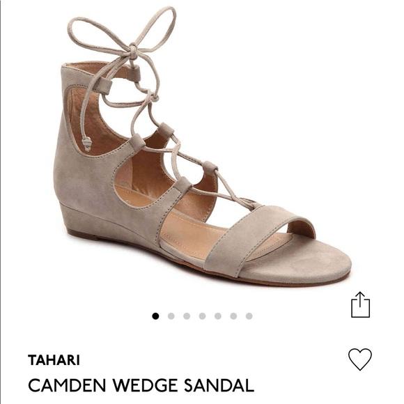 cbe2d3a48d5 ... Tahari Camden wedge sandal. M 5af0858900450fd9d56ca0f7